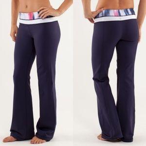 Lululemon Groove Pant Reversible Yoga Pants Size 2